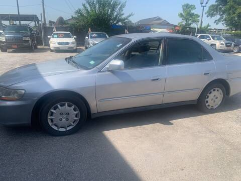 2001 Honda Accord for sale at FAIR DEAL AUTO SALES INC in Houston TX