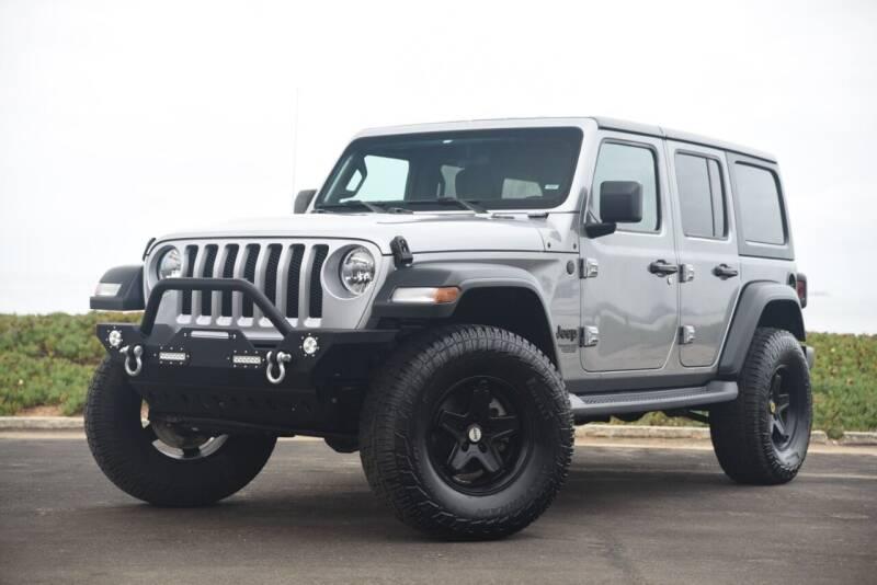 2019 Jeep Wrangler Unlimited for sale at Milpas Motors in Santa Barbara CA