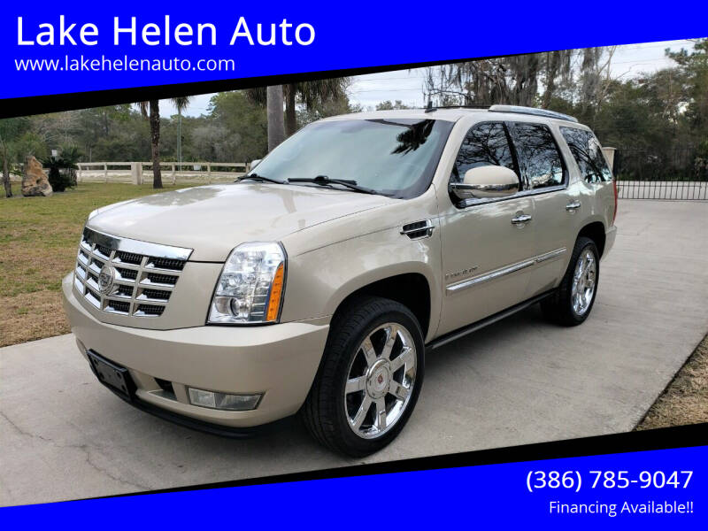 2009 Cadillac Escalade for sale at Lake Helen Auto in Lake Helen FL