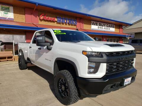 2021 Chevrolet Silverado 2500HD for sale at Ohana Motors in Lihue HI
