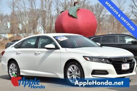 2019 Honda Accord for sale at APPLE HONDA in Riverhead NY