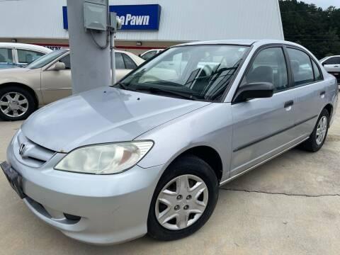 2004 Honda Civic for sale at CarUnder10k in Dayton TN