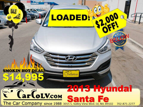 2013 Hyundai Santa Fe Sport for sale at The Car Company in Las Vegas NV