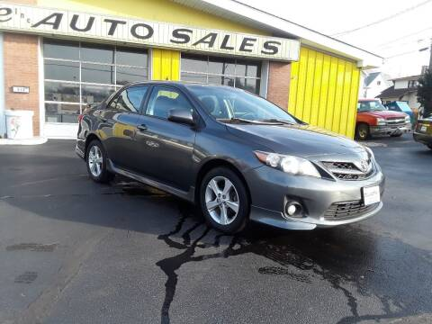 2011 Toyota Corolla for sale at Sarchione INC in Alliance OH