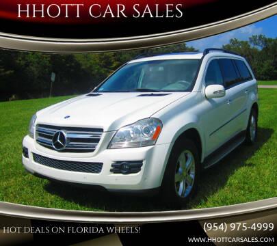 2007 Mercedes-Benz GL-Class for sale at HHOTT CAR SALES in Deerfield Beach FL
