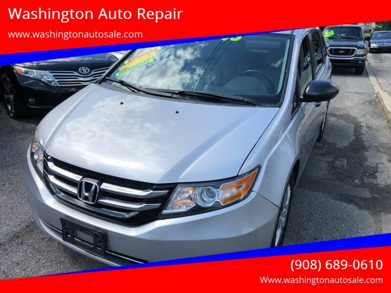 2014 Honda Odyssey for sale at Washington Auto Repair in Washington NJ