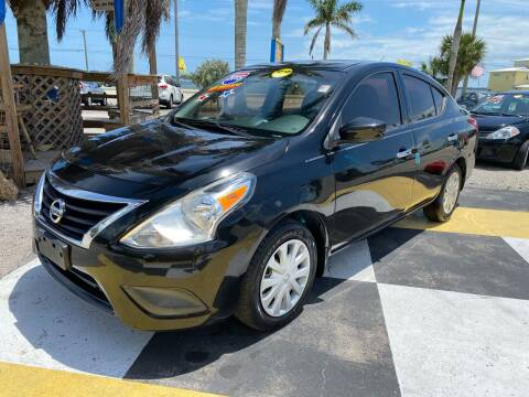 2015 Nissan Versa for sale at D&S Auto Sales, Inc in Melbourne FL