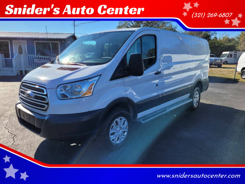 2016 Ford Transit Cargo for sale at Snider's Auto Center in Titusville FL