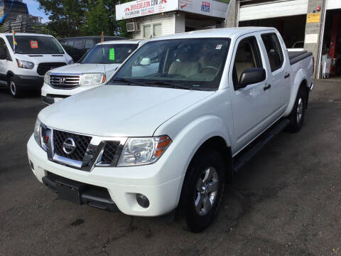 2012 Nissan Frontier for sale at Drive Deleon in Yonkers NY