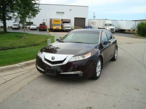 2010 Acura TL for sale at ARIANA MOTORS INC in Addison IL