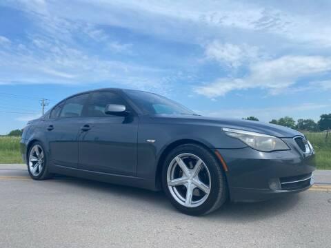2008 BMW 5 Series for sale at ILUVCHEAPCARS.COM in Tulsa OK