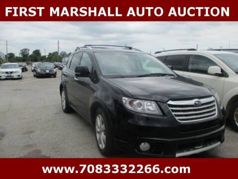 2010 Subaru Tribeca for sale at First Marshall Auto Auction in Harvey IL