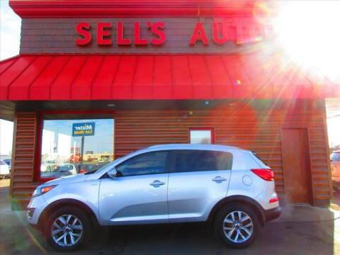 2015 Kia Sportage for sale at Sells Auto INC in Saint Cloud MN