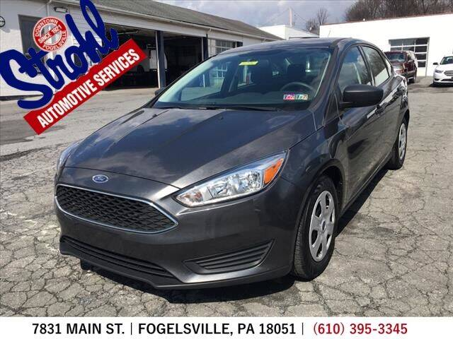 2018 Ford Focus for sale at Strohl Automotive Services in Fogelsville PA