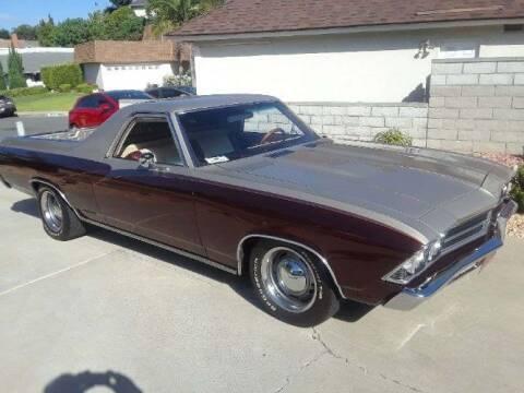 1969 Chevrolet El Camino for sale at Classic Car Deals in Cadillac MI