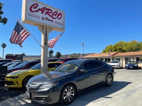 2016 Acura TLX for sale at CARCO SALES & FINANCE - CARCO OF POWAY in Poway CA