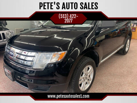 2007 Ford Edge for sale at PETE'S AUTO SALES LLC - Middletown in Middletown OH