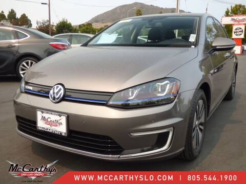 2015 Volkswagen e-Golf for sale at McCarthy Wholesale in San Luis Obispo CA
