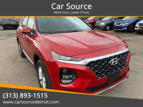 2019 Hyundai Santa Fe for sale at Car Source in Detroit MI