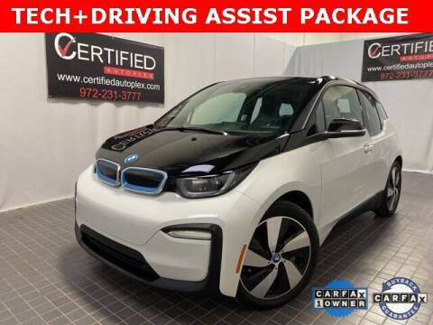 2018 BMW i3 for sale at CERTIFIED AUTOPLEX INC in Dallas TX