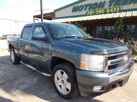 2008 Chevrolet Silverado 1500 for sale at MOTION TREND AUTO SALES in Tomball TX