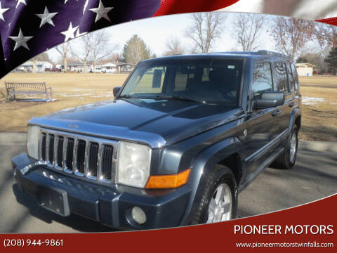 2007 Jeep Commander for sale at Pioneer Motors in Twin Falls ID