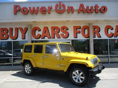 2015 Jeep Wrangler Unlimited for sale at Power On Auto LLC in Monroe NC