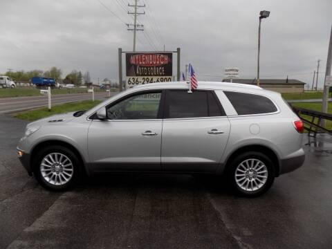 2011 Buick Enclave for sale at MYLENBUSCH AUTO SOURCE in O` Fallon MO