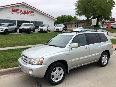2005 Toyota Highlander for sale at Efkamp Auto Sales LLC in Des Moines IA
