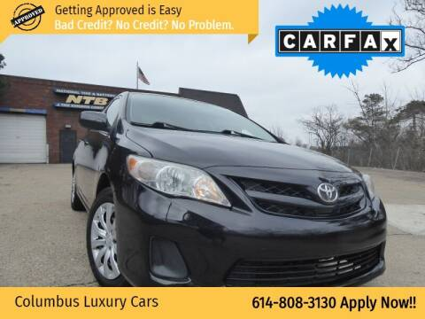 2012 Toyota Corolla for sale at Columbus Luxury Cars in Columbus OH