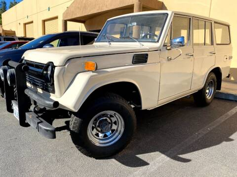 1973 Toyota Land Cruiser for sale at Dan Reed Autos in Escondido CA