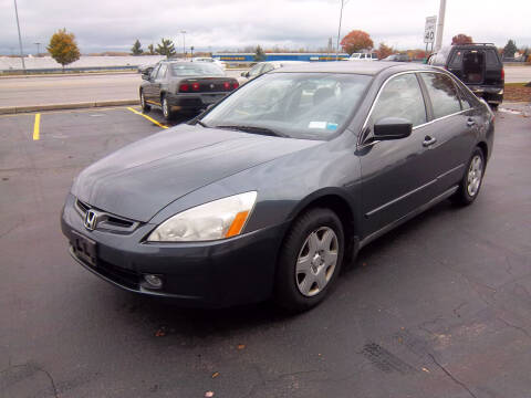 2005 Honda Accord for sale at Brian's Sales and Service in Rochester NY