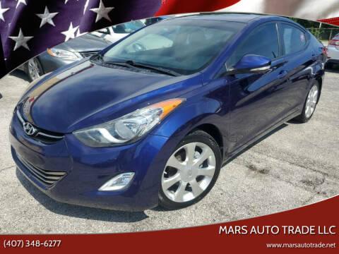 2012 Hyundai Elantra for sale at Mars auto trade llc in Kissimmee FL