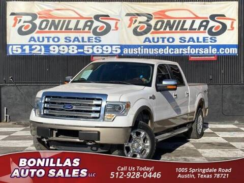 2013 Ford F-150 for sale at Bonillas Auto Sales in Austin TX
