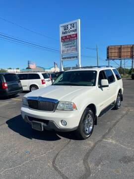 2003 Lincoln Aviator for sale at US 24 Auto Group in Redford MI