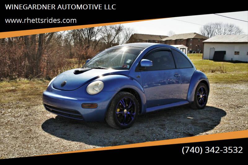 1999 Volkswagen New Beetle for sale at WINEGARDNER AUTOMOTIVE LLC in New Lexington OH