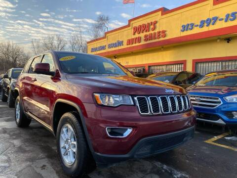 2018 Jeep Grand Cherokee for sale at Popas Auto Sales in Detroit MI