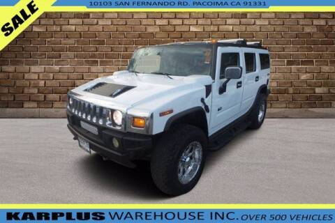 2004 HUMMER H2 for sale at Karplus Warehouse in Pacoima CA
