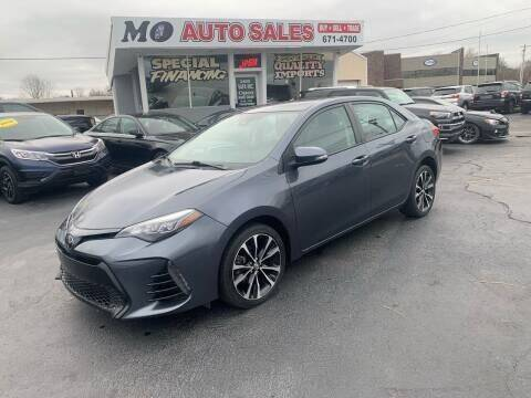 2017 Toyota Corolla for sale at Mo Auto Sales in Fairfield OH