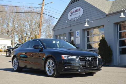 2013 Audi A5 for sale at LARIN AUTO in Norwood MA