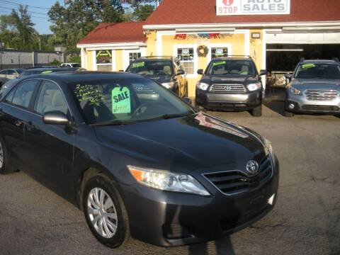 2010 Toyota Camry for sale at One Stop Auto Sales in North Attleboro MA