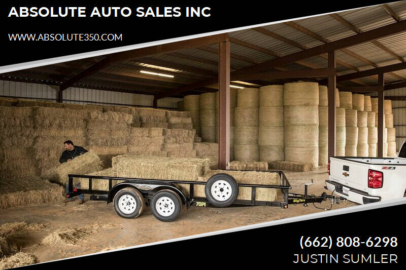 2020 Big Tex 70PI-16XBK4RG for sale at ABSOLUTE AUTO SALES INC - Big Tex Trailers in Corinth MS