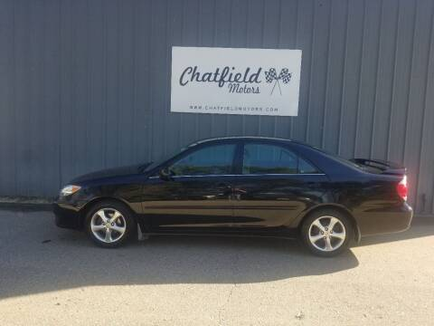 2005 Toyota Camry for sale at Chatfield Motors in Chatfield MN