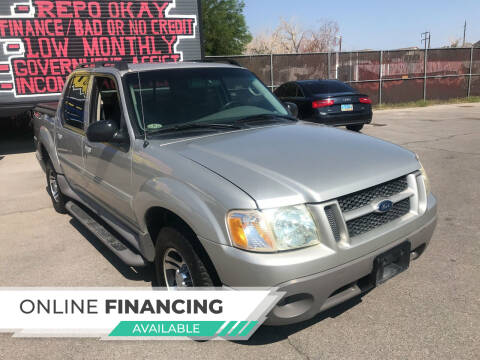 2003 Ford Explorer Sport Trac for sale at Rock Star Auto Sales in Las Vegas NV