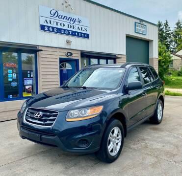 2010 Hyundai Santa Fe for sale at Danny's Auto Deals in Grafton WI