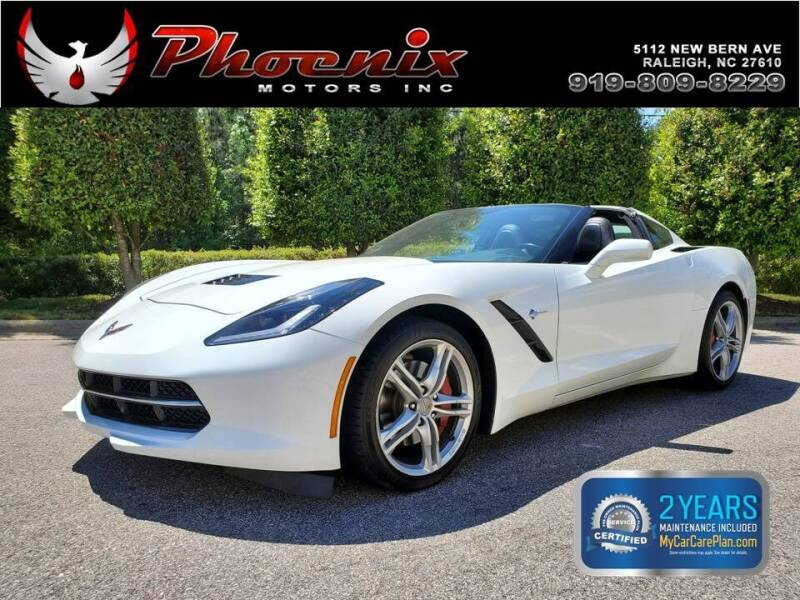 2017 Chevrolet Corvette for sale at Phoenix Motors Inc in Raleigh NC
