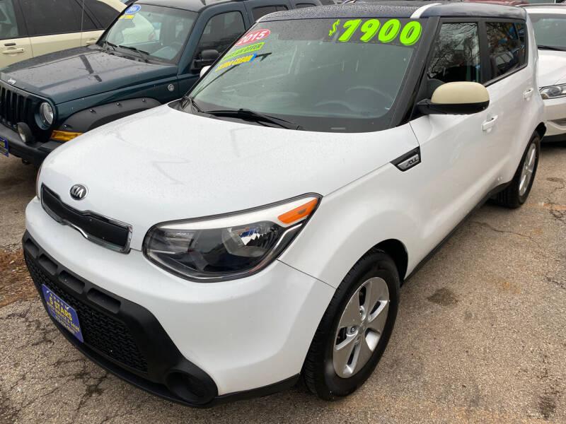 2015 Kia Soul for sale at 5 Stars Auto Service and Sales in Chicago IL