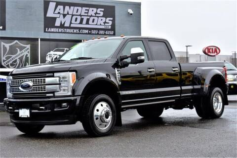 2017 Ford F-450 Super Duty for sale at Landers Motors in Gresham OR