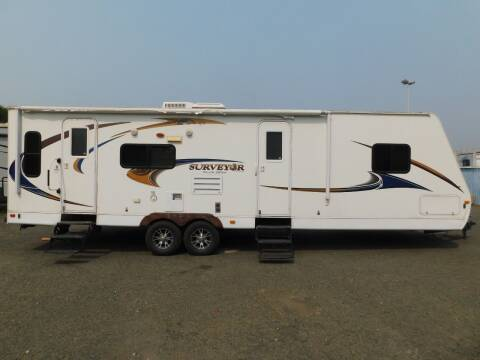 2012 Forest River SURVEYOR 302SV for sale at Gold Country RV in Auburn CA
