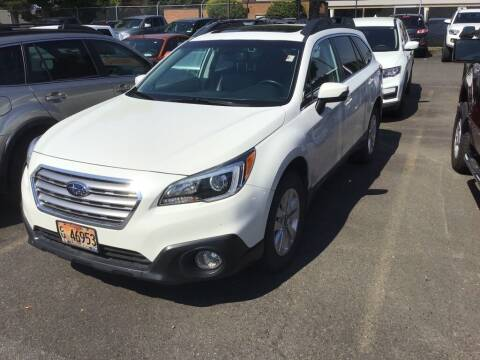 2016 Subaru Outback for sale at Royal Moore Custom Finance in Hillsboro OR